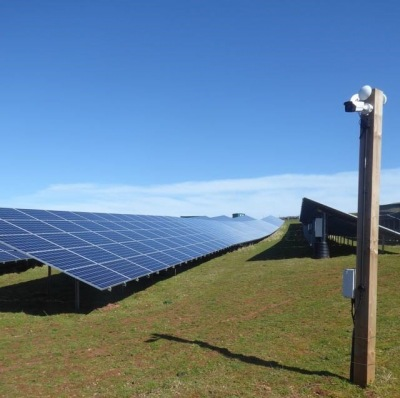 Complete Newton Downs Solar Farm from Yealm Community Energy