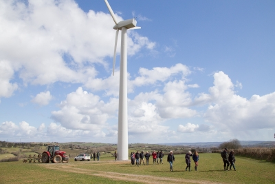 South Brent Wind Turbine, 2015