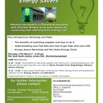 Energy Aware Workshop - Flyer