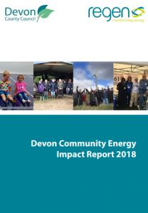 Devon Community Energy Impact Report